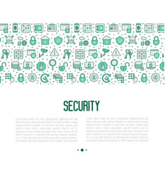 security and protection concept vector image
