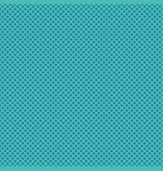 Turquoise blue polka dot circles pattern vector
