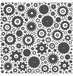 Gear cog wheels background vector image