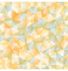 Warm abstract triangular background vector image vector image