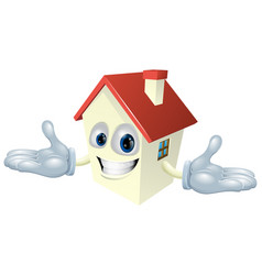 house character vector image vector image