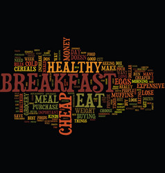 you can eat cheap but eat healthy to lose weight vector image vector image