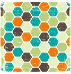 Retro seamless geometric pattern vector image vector image
