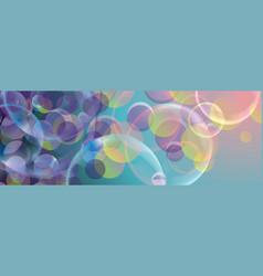 Abstract holydays background with rainbow lightsl vector