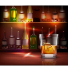 Bar Counter Background vector