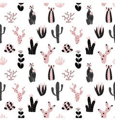 Black and pink pattern vector
