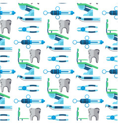 dentist medical tools health care medicine vector image