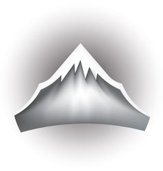 Mountain Peak Logo vector image