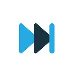 Next colorful icon symbol premium quality vector