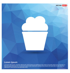 Popcorn exploding inside packaging icon vector