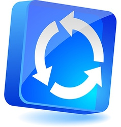 Refresh Icon vector image