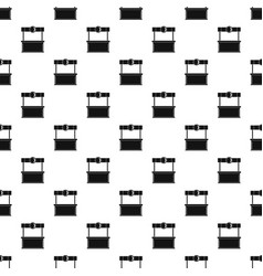 Shopping counter pattern vector