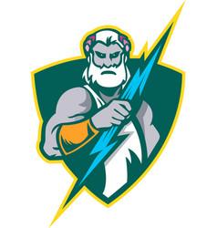 Thor the god of thunder vector