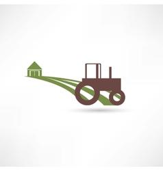 Tractor field vector