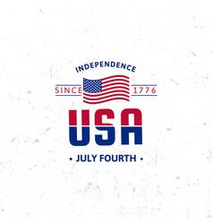 united states north america logo vintage vector image