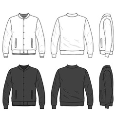 Bomber jacket vector image