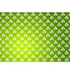 Clovers shamrocks green abstract texture vector
