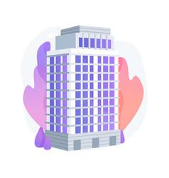 Condominium abstract concept vector