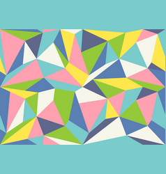 geometric polygon pattern vector image