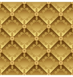 golden pattern vector image