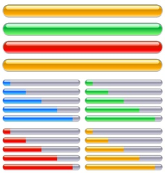 Indicator progress vector