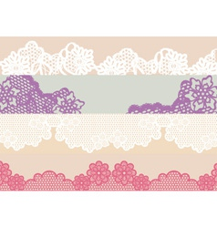 Vintage lace vector