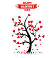 san valentine day card vector image