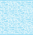 abstract light blue pattern with horizontal shapes vector image vector image