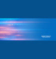 blue background with light streak and text space vector image vector image