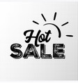 hot sale black badge with grunge texture vector image vector image
