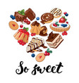 so sweet vector image