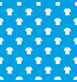 soccer shirt pattern seamless blue vector image vector image