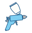 spray paint gun vector image vector image