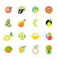 Citrus family - logo templates set vector | Price: 1 Credit (USD $1)
