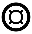 computer symbol any currency icon black color in vector image vector image