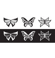 ethnic butterfly vector image vector image