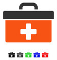 first aid toolbox flat icon