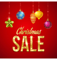 Flash sale christmas vector image vector image