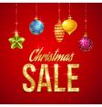 Flash sale christmas vector image vector image