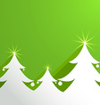 paper Abstract Background with Christmas Tree vector image