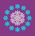 pattern round vector image vector image