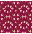 Seamless vintage roses pattern vector image