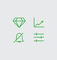 web icon design element vector image