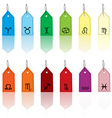 zodiacal signs vector image