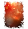 Abstract christmas background EPS 10 vector image vector image