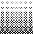 abstract monochrome polka dot pattern vector image vector image