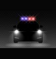 car light vector image vector image