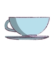 coffee cup kitchen tool isolated icon vector image