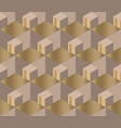 elegant geometric style seamless pattern vector image