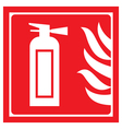 fire-extinguisher 2 vector image